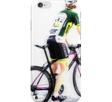Woman on Wheels  iPhone Case/Skin
