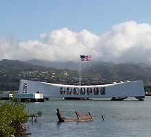 Arizona Memorial, Pearl Harbor, Hawaii by dhetzler