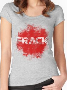 Frack no. 2 Women's Fitted Scoop T-Shirt
