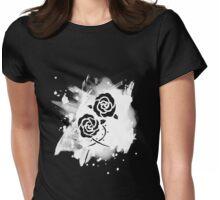 Stationary guard - white splash Womens Fitted T-Shirt