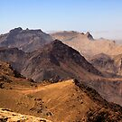 Jordanian mountains by Yannick Verkindere