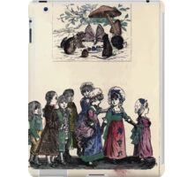 The Little Folks Painting book by George Weatherly and Kate Greenaway 0089 iPad Case/Skin