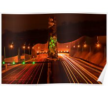 Night at Melba Tunnel Poster