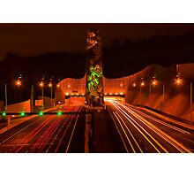 Night at Melba Tunnel Photographic Print