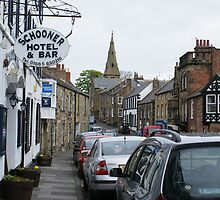Schooner Hotel and High Street, Alnmouth, Northamptonshire by BronReid