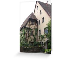 Beautiful cottage Greeting Card