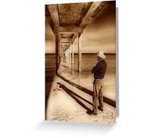 Underneath The Jetty Greeting Card