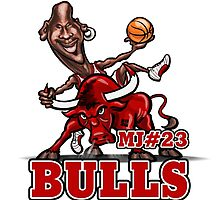 Michael Jordan caricature by Tomajestic