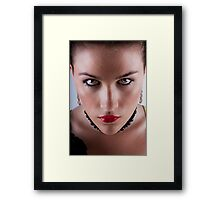 Portrait of Kate Framed Print