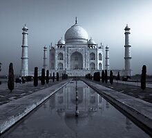 The Mystery Continues - Taj Mahal by Andrew To