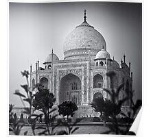 Mausoleum of Mumtaz - Taj Mahal Poster