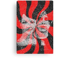 The White Stripes - Elephant (2005) Canvas Print