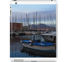 Vesuvius and the Boats II iPad Case/Skin