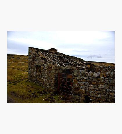 Sheep Pen & Fodder Store Photographic Print