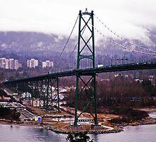 Vancouver Lions Gate Bridge by Moetran