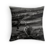This way leads to the sea Throw Pillow