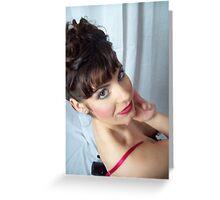 Sarah Siren Greeting Card