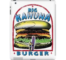 Classic Big Kahuna Burger iPad Case/Skin