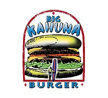 Classic Big Kahuna Burger Photographic Print