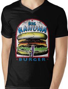 Classic Big Kahuna Burger Mens V-Neck T-Shirt