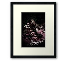 Knife Play Framed Print
