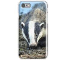 Badger on Weston Moor iPhone Case/Skin