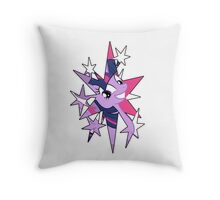TwiStar Throw Pillow