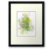 Link - splash Framed Print