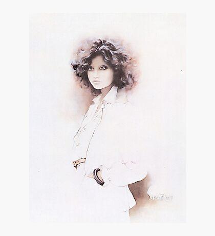 """Jennifer"" Oil on Canvas Photographic Print"