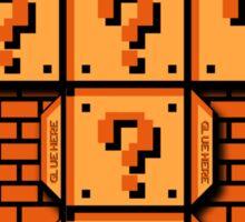Mario Flat Pack Question Mark Cube Sticker