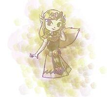 Zelda - splash by ASCasanova