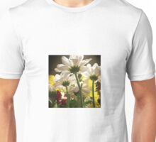 White flowers beautiful nature Unisex T-Shirt
