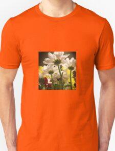White flowers beautiful nature Unisex T-Shirt