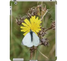 Small white butterfly iPad Case/Skin