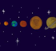 solar system by hollypayne100