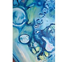 H2O - Oil on Gallery wrapped canvas Photographic Print
