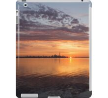 My World This Morning - Toronto Skyline at Sunrise iPad Case/Skin