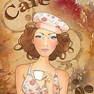 Coffee Girl by Scot Howden