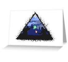 deathly hallows  Greeting Card