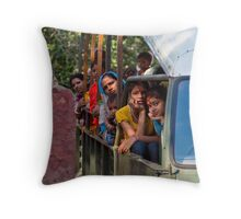 Patience - Rathambore Throw Pillow