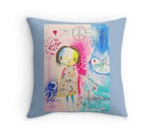Millie 'All you need is love' Throw Pillow