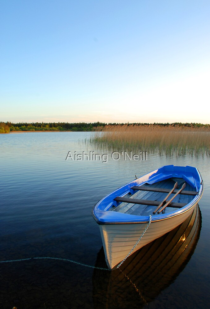 Lake Derragh, Ireland II by Aishling O'Neill