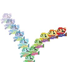 Super Mario Rainbow Jump by galacticrad