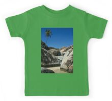 Boulders and Palm Trees Kids Tee