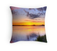 Wonderful morning Throw Pillow