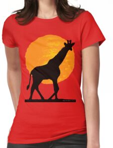 Sunny under the African sky Womens Fitted T-Shirt