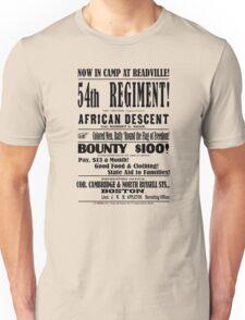 54th Massachusetts Regiment! Unisex T-Shirt