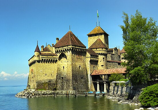 Montreux, Chatelard Castle, Switzerland by leksele