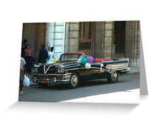 Havana Wedding Greeting Card