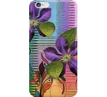 Vining Abstract iPhone Case/Skin